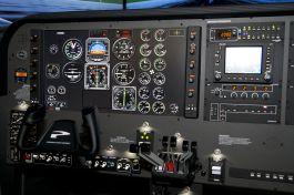 Cockpit du BE20